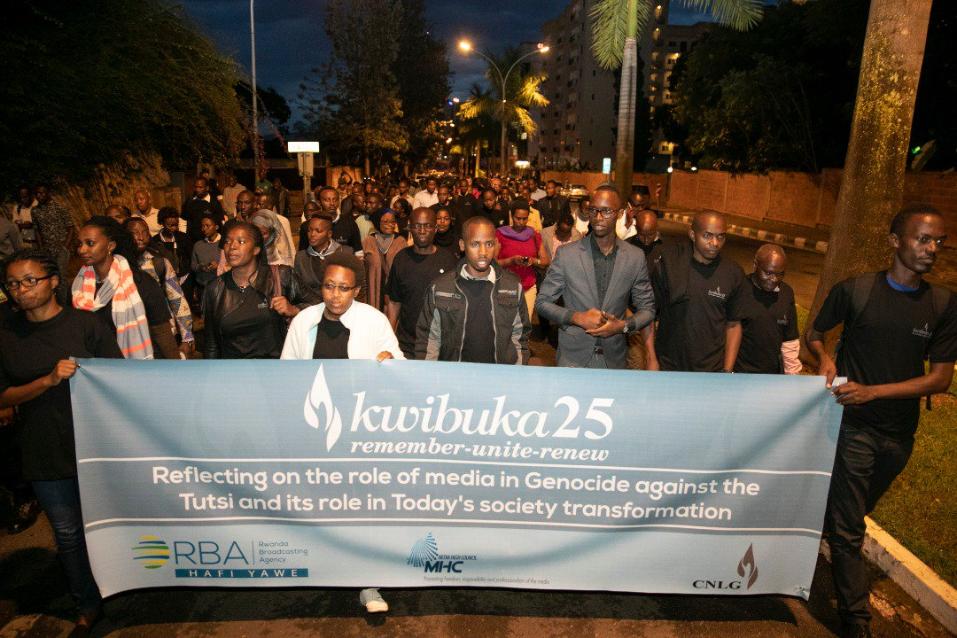 Media fraternity pays tribute to journalists killed during the 1994 Genocide against the Tutsi