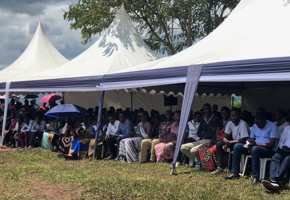 Thousands gather at Mwulire to remember victims of the 1994 Genocide  Against the Tutsi